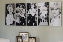 Photo wall inspiration / Decora con fotos