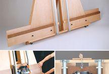 Plans de travail en bois