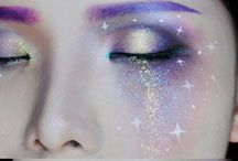 Outerspace makeup n costume