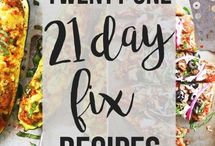 21 Day Fix Meals / Recipes and meal ideas for 21 day fix