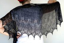 Knitting scarf /shawls / Knitting scarfs & shawls. Patterns tutorials design ideas.