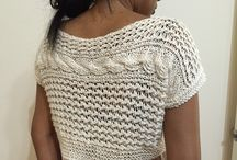 Needle Crafts - Clothing / Crochet and knitted Tops