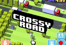 fun games to play / One of my fave games is #crossy road