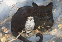 Cat's art (Arte gatuno) / by Sergio Mancisidor 01