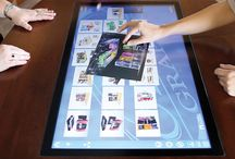 Interactive Technology / Interactive touch screen inTouch Table.