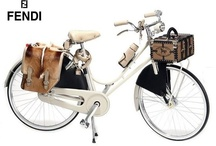 Bicycle Chic / Crusier, retro, old-fashioned, and vintage style bike love. :)