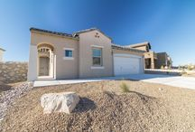 The Kimball / An open concept home, the Kimball is 2327 sq. ft. with 4 bedrooms and 2.5 bathrooms.  This versatile home features formal dining space, a covered courtyard, and a covered back porch.  desertviewhomes.com/plans/kimball/