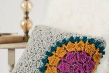 crochet pillow inspirations