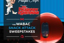 WABAC SNACK ATTACK Sweepstakes / by Mary Stovall