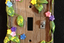 дверцы домика / лепка домика