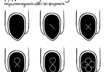 Uñas / EXO / nail art kpop exo