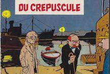 BD Francophone / Sur le même thème, voir aussi les tableaux : Enki Bilal / Hergé / E.P. Jacobs / Jacques Tardi / Gir ou Moebius / Juillard / Jean-Pierre Gibrat / Héroïnes de BD /Ligne Claire / Far West & BD