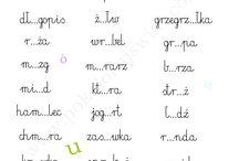 ortografia - karty pracy