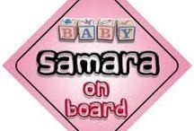 Samara is my baby
