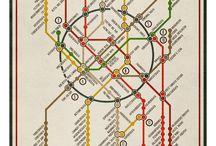 Karten, Infografiken