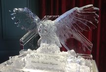 Wedding Ice Sculptures by Glacial Art Ice Sculptors