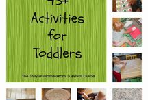 toddler time / things to try to keep S busy :)