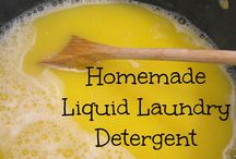 homemade detergents