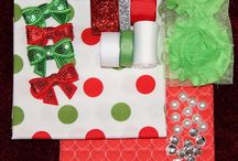 Ribbon and Remnant Challenge - Red & Green Theme / Our amazing bloggers and what they have created with our Challenge pack.