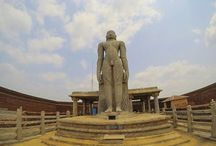 Tale of two Bahubali Gomateshwara Statues in Karkala and Venur / Heritage monolith stone carved Bahubali Gomateshwara Statues at Karkala and Venur. Places to visit near Managalore and Udupi