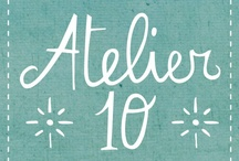 Atelier 10 / All Atelier 10 members Items. Handmade in Italy