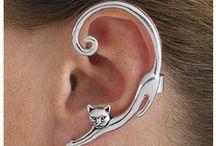 šperky s kočičkou
