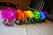 Party: Flower Rainbow