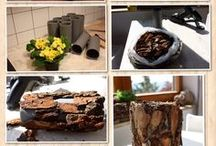 baumrinde/Holz