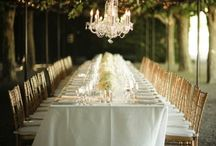 rectangular tablescapes / by Rennie Friedlander