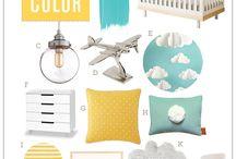 Nifty Nursery / Nursery Ideas / by Katherine Montei