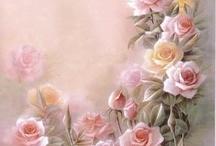 kwiaty grafika