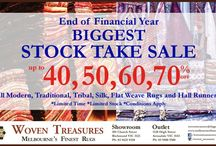 End Of Financial Year Rugs Sale 2016 / End Of Financial Year Biggest Stock Take Sale Up To 40% to 70% Off On All Modern, Traditional, Tribal, Silk, Flat, Weave Rugs & Hall Runners AT Woven Treasures Rugs http://woventreasuresrugs.com.au/
