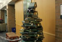 Recycled Book Projects / New uses for old books. Creative ways to use and display old books.