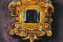 design gioielli medioevali