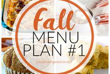 Menu Plans from Food, Folks and Fun / Your weekly menu planning just a whole lot easier thanks to my weekly menu plans! Here you'll find Fall Menu Plans, Winter Menu Plans, Spring Menu Plans, Summer Menu Plans, Anytime of the Year Menu Plans, Slow Cooker Menu Plans, Healthy Menu Plans, and more! Happy Cooking!