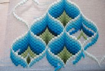 Patchwork  bargello