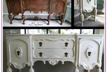 Furniture Makeovers  / by Angella Marmet