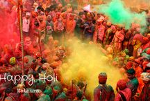 Holi Festival / Holi Festival is among one of the biggest festival celebrated in India as well as other parts of world. it is known as the Festival of colors and music.