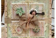 shabby shic cards