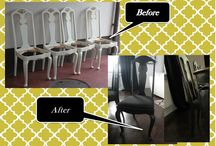 Befor&After / Furnitures which I makeover,  DIY :)  wood hobby