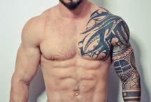 arm men tattoo