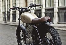 Street tracker motocycles
