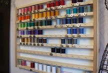 Craft room ideas / by Adriana Sandoval