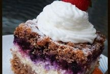 strúhaný koláč s ovocim