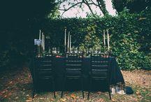 Moody Hues Wedding Styling / Moody Hues Wedding Styling