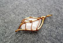 Pretty. Leave pendant