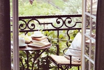 Patios / I just like patios-- easier to design and maintain than gardens; suited to urban living.  / by Heather Parish
