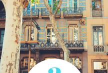 Barcelona Travel Guide / Check out my ultimate Barcelona travel guide here > https://thestyleparcel.com/2018/05/10/barcelona-travel-guide/