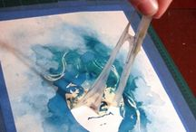 Aqua met glue