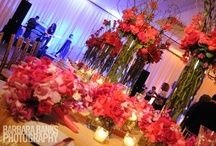 Shades of Pink Wedding and Event Flowers  / From soft pinks to the hot pink tones that give a punch of color to an event, it is a favorite of many